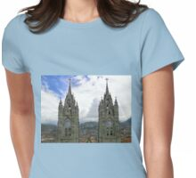 The Best View In Quito Ecuador Womens Fitted T-Shirt