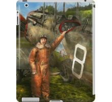 Plane - First One-Stop Flight Across the US - 1921 iPad Case/Skin