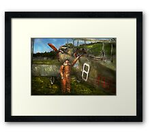 Plane - First One-Stop Flight Across the US - 1921 Framed Print