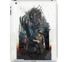 Last of Us - Joel & Ellie Fighting iPad Case/Skin