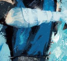 """Sub-Zero"" Splatter Art Sticker"