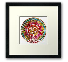 Tree of Life Mandala Framed Print