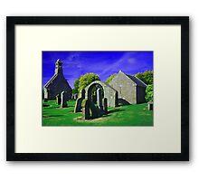 Old Parish Church  Framed Print