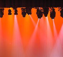 Lights crowd in orange by Luigi De Frenza
