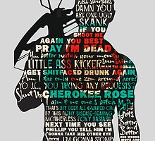 The Walking Dead - Daryl Silhouette Quotes by TylerMellark