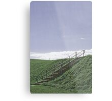 Up the Hill into the Sky Metal Print