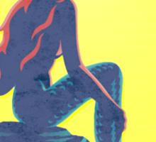 Alpha Delta Pi Mermaid  Sticker