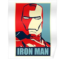 The Avengers - Vote for Iron Man Poster