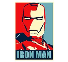 The Avengers - Vote for Iron Man Photographic Print