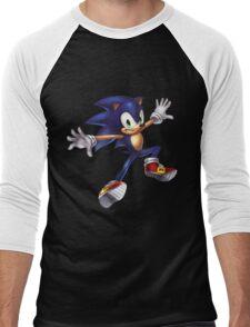 Sonic Men's Baseball ¾ T-Shirt