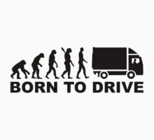 Evolution born to drive truck Kids Clothes