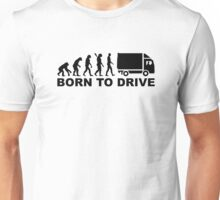Evolution born to drive truck Unisex T-Shirt
