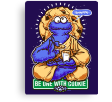 One With Cookie Canvas Print