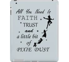 Peter Pan - All You Need to Fly iPad Case/Skin