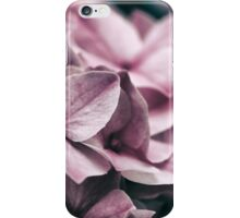 Close up of Pink Hydrangea iPhone Case/Skin