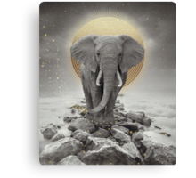 Strength & Courage (Stay Gold Elephant Remix) Canvas Print