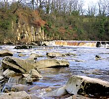 Richmond Falls River Swale by Lindamell