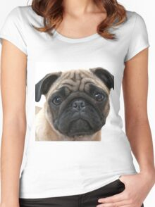 PUGGY Women's Fitted Scoop T-Shirt