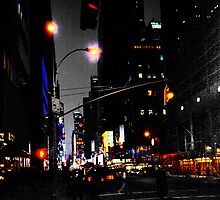 Towards Times Square by David Robinson