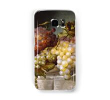 Still life with grapes in a porcelain dish (c. 1850 Austria) by Colnaghi Samsung Galaxy Case/Skin