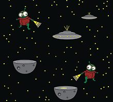 Alien Encounters by Jayne Le Mee
