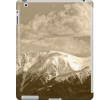 Fagaras mountains Romania, Carpathian Mountains iPad Case/Skin