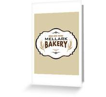 Hunger Games - Mellark Bakery Greeting Card