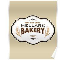 Hunger Games - Mellark Bakery Poster