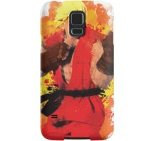 """Ken"" Splatter Art Samsung Galaxy Case/Skin"