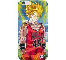 Goku for the Bulls iPhone Case/Skin