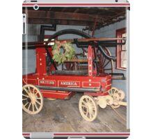 Pioneer time fire engine iPad Case/Skin