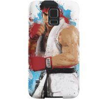 """Ryu"" Splatter Art Samsung Galaxy Case/Skin"