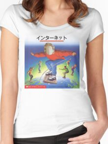 Internet Shoppe Women's Fitted Scoop T-Shirt