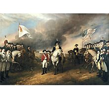 Surrender of Lord Cornwallis by John Trumbull Photographic Print