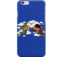 harry potter vs zelda iPhone Case/Skin