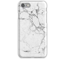 Marble white iPhone Case/Skin