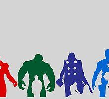 avengers by vimivu