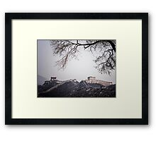 China Great wall 1 Framed Print