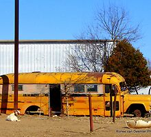 Kids School Bus by Ronee van Deemter