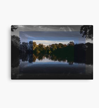 Nature through different colors Canvas Print