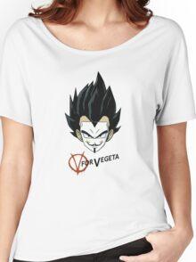 V of Vegeta Women's Relaxed Fit T-Shirt