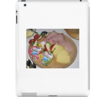 Zmorge at Luegibrüggli iPad Case/Skin