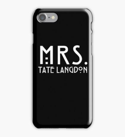 mrs. tate iPhone Case/Skin