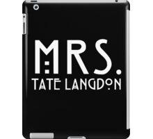 mrs. tate iPad Case/Skin