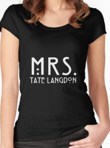 mrs. tate Women's Fitted Scoop T-Shirt