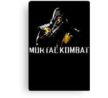 Scorpion - Mortal Kombat Canvas Print