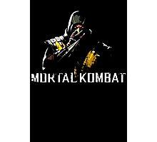 Scorpion - Mortal Kombat Photographic Print