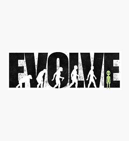 EVOLVE Photographic Print