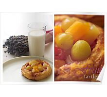 Fruit Tartlet Poster