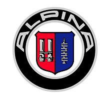 Alpina - Classic Car Logos by brookestead